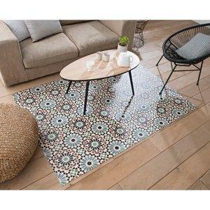 Blancheporte Vinylový koberec s potlačou ružíc sivá 49x79cm