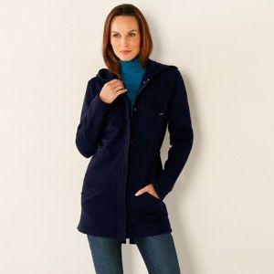 Blancheporte Meltonová bunda nám.modrá 52
