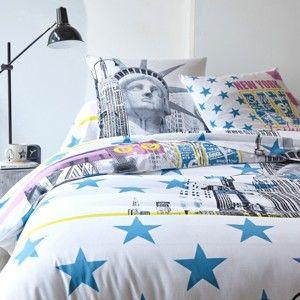 Blancheporte Módna bavlnená posteľná bielizeň Fashion obliečka na prikrývku 140x200