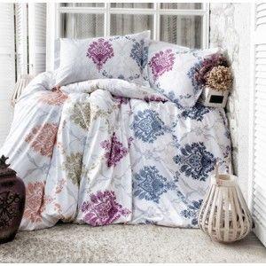 Blancheporte Obliečky bavlna IVY biela/farebná potlač obliečka na vankúšik 40x40cm