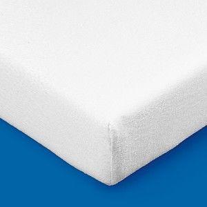 Blancheporte Meltonová absorpčná ochrana matraca 200g/m2 25 cm biela 120x190cm potah, roh 25cm