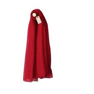 Blancheporte Šál so štrasom červená štras