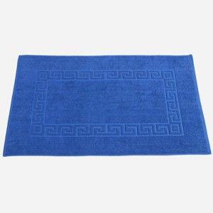 Blancheporte Kúpeľňová predložka, Grécky vzor tm.modrá 60x100cm