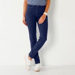Blancheporte Slim džínsy nám.modrá 42