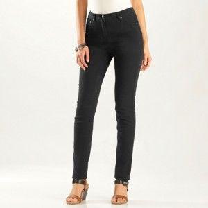Blancheporte Slim džínsy čierna 36