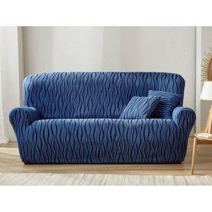 Blancheporte Poťah na gauč a kreslo modrá pohovka 3miestna