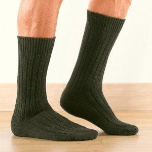 Blancheporte Pracovné ponožky Labonal, sada 2 páry khaki 39/42