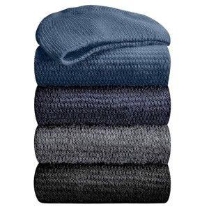 Blancheporte Podkolienky s masážnym efektom, 98 % bavlna, 2 páry čierna 35/38