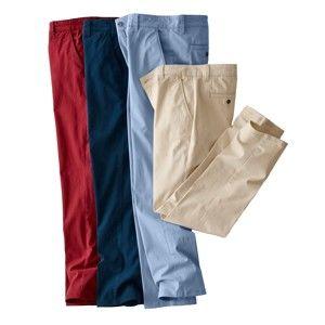Blancheporte Chino nohavice červená 40