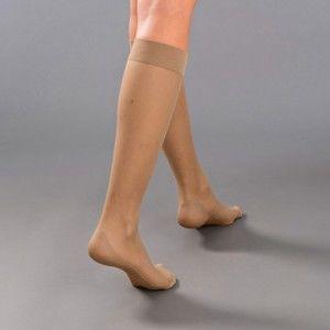 Blancheporte Vysoké ponožky s masážnym chodidlom