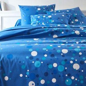 Blancheporte Posteľná bielizeň Bublinky, bavlna, zn. Colombine nám. modrá obliečka na prikrý. 240x220cm