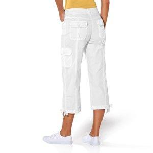 Blancheporte 3/4 nohavice s úpletovým pásom hnedosivá 50