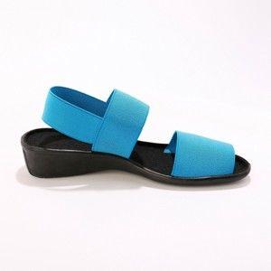 Blancheporte Elastické sandále tyrkysová 41