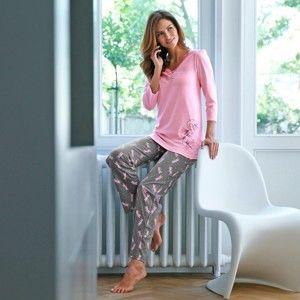 Blancheporte Pyžamo s potlačou vážok potlač vážka 42/44