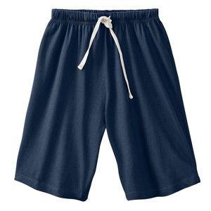 Blancheporte Jednofarebné pyžamové šortky, námornícka modrá nám.modrá 36/38