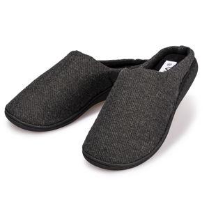 Blancheporte Domáce papuče pánske čierna 44