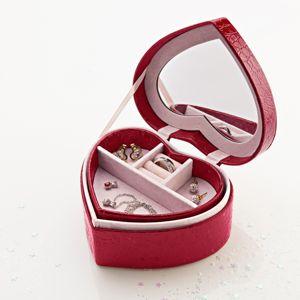 Blancheporte Šperkovnica v tvare srdca