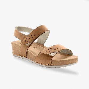 Blancheporte Sandále so širokými pásikmi, gaštanové gaštanová 38