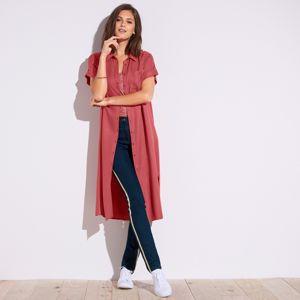 Blancheporte Košeľové šaty tehlová 46