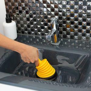Blancheporte Mini zvon na čistenie odpadu žltá