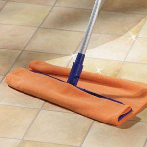 Blancheporte Handra na podlahu s aktívnym striebrom oranžová 50x60cm
