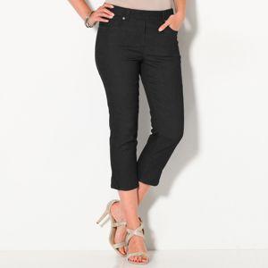 Blancheporte Strečové korzárska nohavice čierna 40
