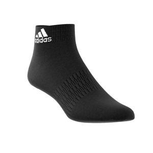 """Blancheporte Ponožky Quarter """"Ankle Crew"""", čierne, súprava 3 páry čierna 34/36"""