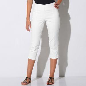 Blancheporte Tvarujúce korzárska nohavice biela 42