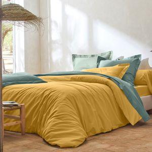 Blancheporte Jednofarebná posteľná bielizeň, polybavlna kari obliečka na vank. 50x70cm+lem