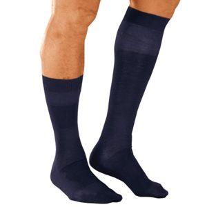 Blancheporte Ponožky s masážnym efektom, 98 % bavlna, 2 páry nám.modrá 43/46