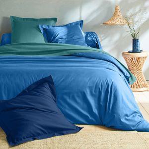 Blancheporte Jednofarebná posteľná bielizeň, bavlna oceán obliečka na vank. 50x70cm+lem
