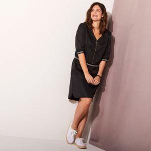Blancheporte Vzdušné šaty na zips čierna 48