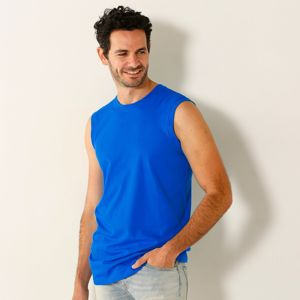 Blancheporte Tričko bez rukávov, súprava 3ks ružová+modrá+zelená 78/86 (S)