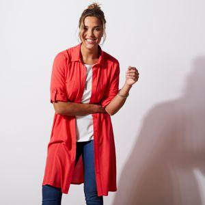 Blancheporte Košeľové šaty, červené červená 56