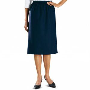 Blancheporte Krátke vzdušné šaty, krátke rukávy modrá/biela 52