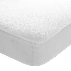 Blancheporte Poťah na matrac, nepriepustný biela 80x190cm,roh 30cm