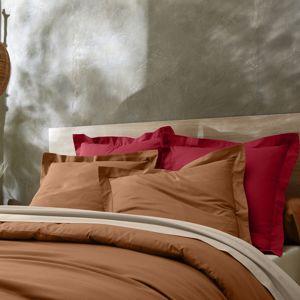 Blancheporte Jednofarebná posteľná bielizeň, bavlna rubínová napínacia plachta 90x190cm