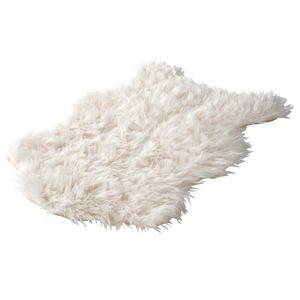 Blancheporte Koberec s dlhým vlasom, dizajn zvieracej srsti hnedosivá 50x80cm