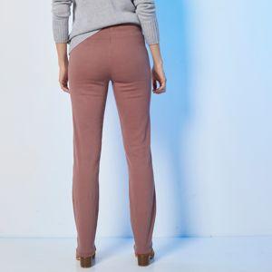Blancheporte Tvarujúce nohavice, efekt plochého bruška pralinková 46