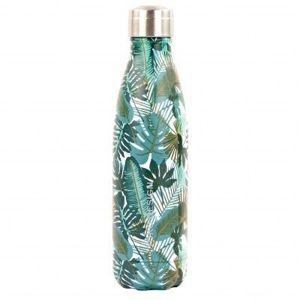 Blancheporte Izotermické fľaša, 500 ml, motív listov potlač tropické 500 ml