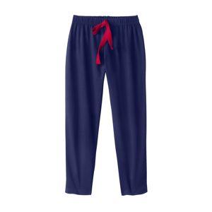 Blancheporte 3/4 jednofarebné pyžamové nohavice nám.modrá 52