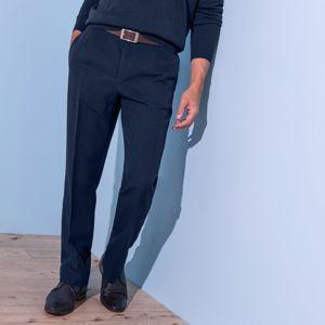 Blancheporte Nohavice s pružným pásom, bez záševkov, polyester nám.modrá 40