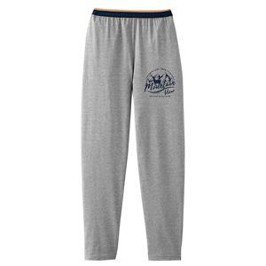 Blancheporte Pyžamové nohavice, sivý melír sivý melír 64/66