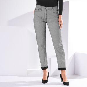 Blancheporte Girlfriend * nohavice s potlačou čierna/biela 38