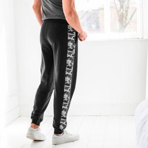 Blancheporte Športové nohavice s maskáčovým vzorom čierna 36/38
