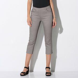 Blancheporte Strečové korzárska nohavice sivá 36